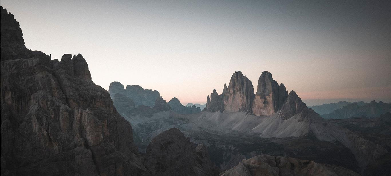 Natural Sights in the 3 Zinnen Dolomites