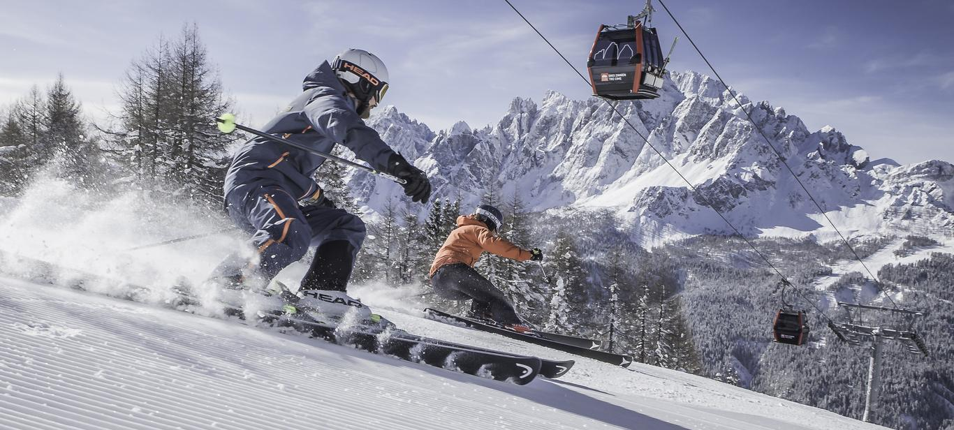 3 Zinnen Dolomites Ski Resort: Your ski time
