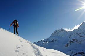 Ski tours in the Dolomites