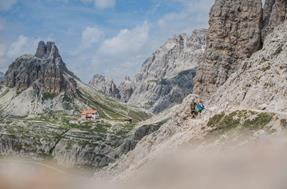 Dolomite high routes