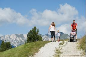 Walking paths in San Candido