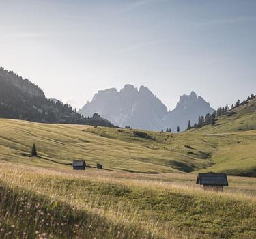 Winter activities in the Dolomites