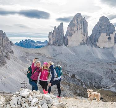 Hiking in the Dolomites UNESCO World Heritage