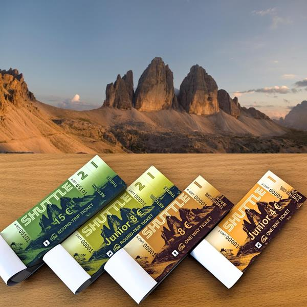 Welcome in the holiday region Three Peaks in the Dolomites